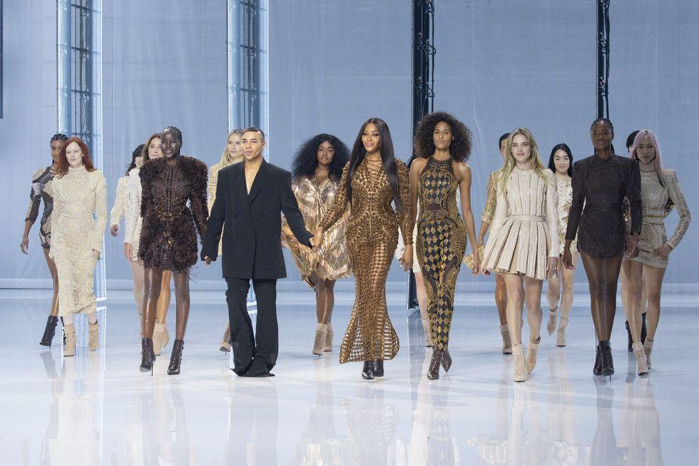 Balmain Celebrates 10th Anniversary with Paris Fashion Week Show