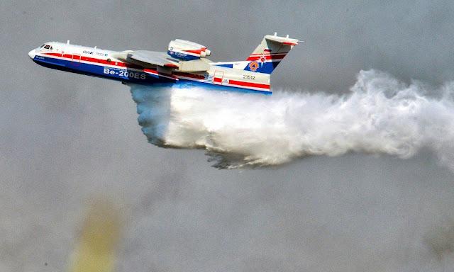 Συγκλονίζει ο πιλότος του Beriev: Kάηκε το σπίτι του ενώ επιχειρούσε να σβήσει τις φωτιές