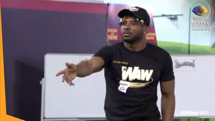 BBNaija: Pictures from today's Waw task