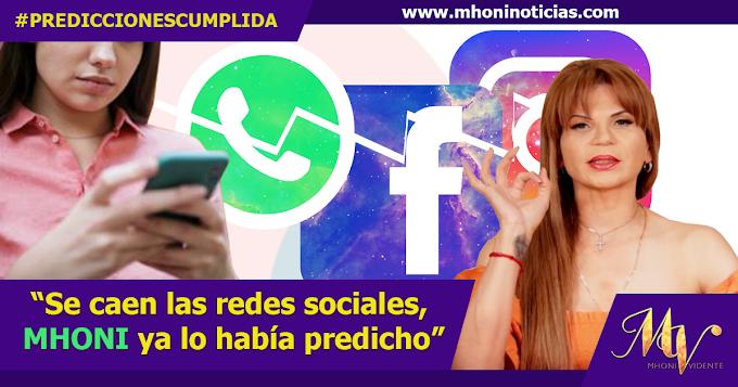 Se caen las redes sociales - Predicción Cumplida