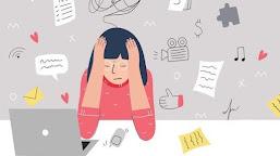 Mengatasi Stress Atau Lelah Belajar Saat Pembelajaran Daring