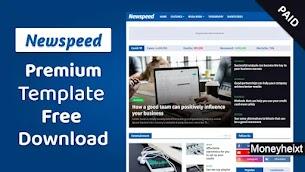 Newspeed Premium Blogger Template Free Download
