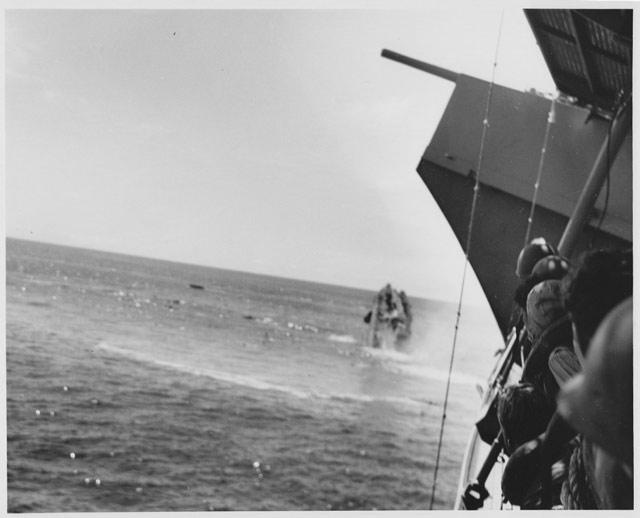 US destroyer Hammann sinking, 6 June 1942 worldwartwo.filminspector.com