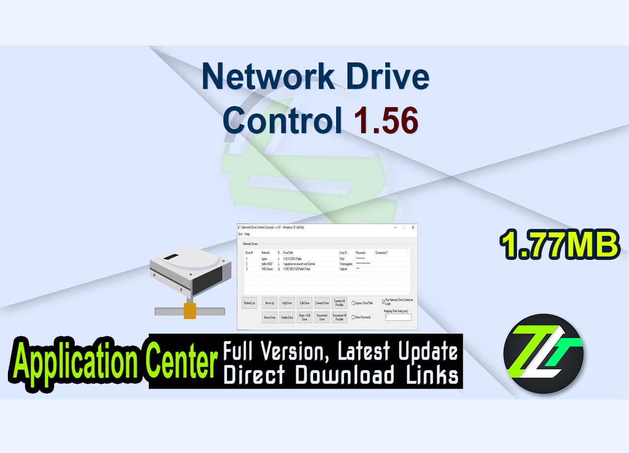 Network Drive Control 1.56