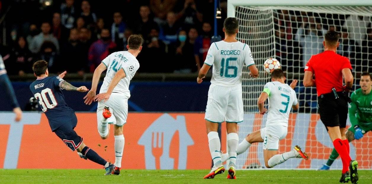 Primer Gol de Messi
