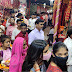 शारदीय नवरात्र के पहले दिन चौकियां धाम में हजारों भक्तों ने टेका मत्था