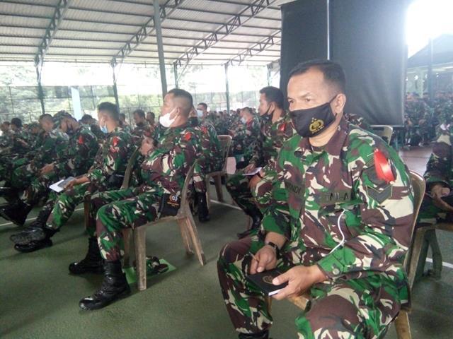 Kegiatan Mobile Training Team (MTT) Turut Diikuti Oleh Personel Jajaran Kodim 0207/Simalungun