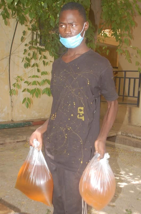 Meet the 18-year-old boy, who buys fuel for bandits