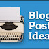Top Best Idea For Writing A Blog Post