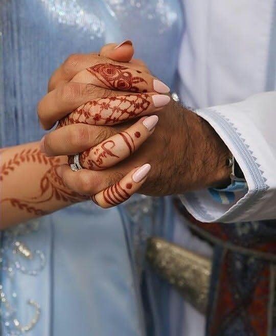 Arab Style Couple Hand DP