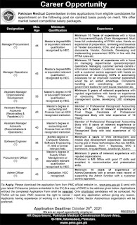 8+ Jobs In Pakistan Medical Commission - Apply Now