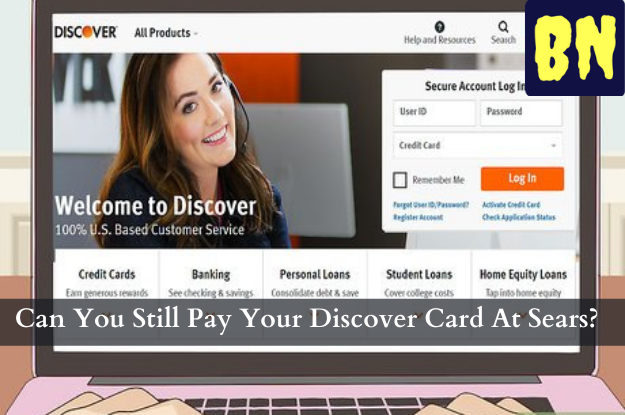 Can You Still Pay Your Discover Card At Sears?