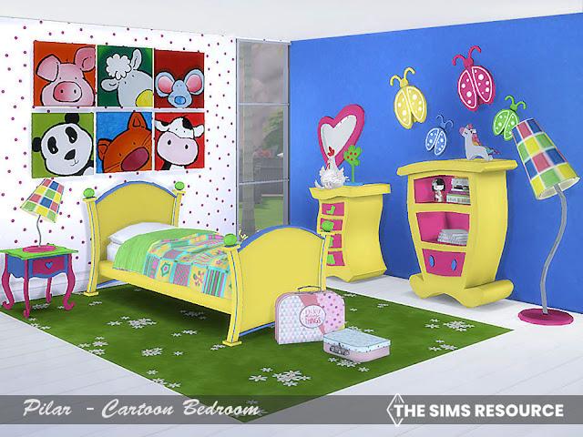 08-10-2021 Cartoon Bedroom