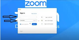 طريقة التسجيل في برنامج زووم