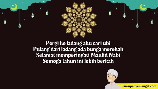 Contoh Pantun Ucapan Maulid Nabi Muhammad 1443 H