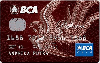 BCA Card Platinum