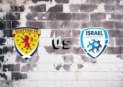 Escocia vs Israel  Resumen