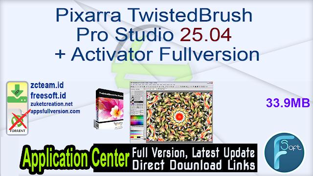 Pixarra TwistedBrush Pro Studio 25.04 + Activator Fullversion