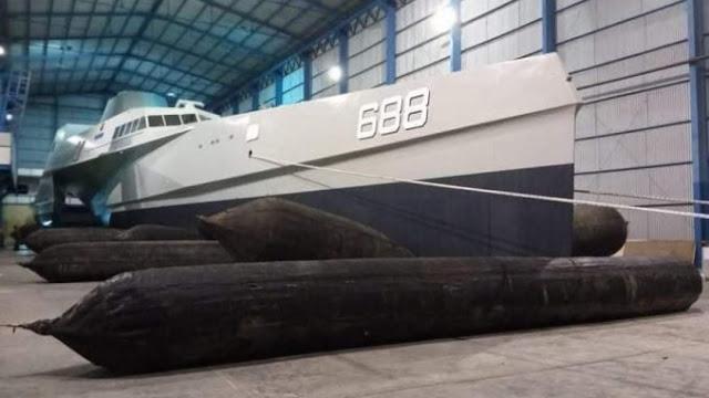 Kapal Siluman KRI Golok Penerus KRI Klewang Siap Diluncurkan, Senjata Dipasok China Bukan Swedia Lagi
