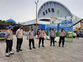 Cek Pengamanan Pelabuhan, Wakapolres Pelabuhan Makassar Ingat Petugas tingkatkan Pelayanan pada Masyarakat