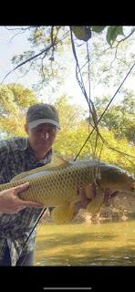Texas Fly Fishing, Fly Fishing Texas, Carp on the Fly, Fly Fishing for Buffalo, Buffalo Fishing in Texas, Ricky Evans, TFFF Bragging Board