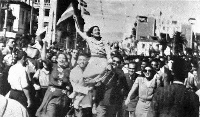 Η απελευθέρωση της Αθήνας από τους Γερμανούς - H ταινία ντοκουμέντο της Finos Film (βίντεο)