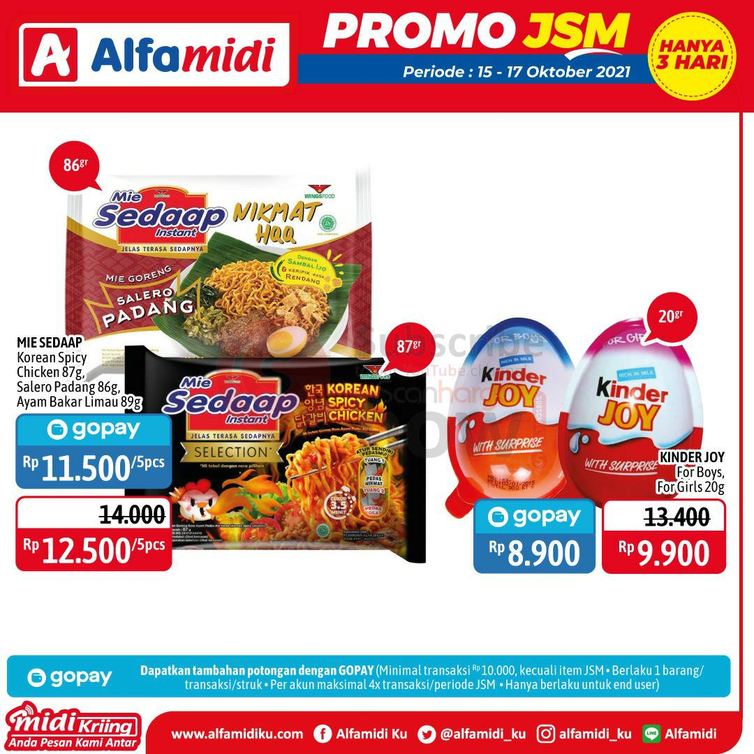 Katalog Promo JSM Alfamidi 15 - 17 Oktober 2021 4