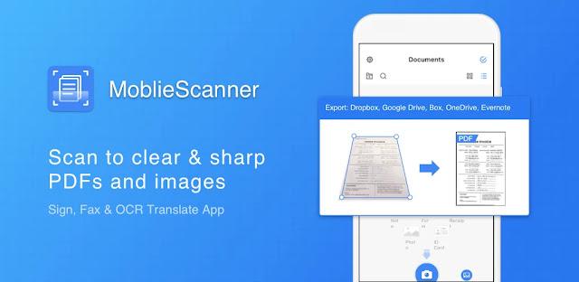 تنزيل Mobile Scanner App - Scan PDF أفضل برنامج ماسح ضوئي للاندرويد و الايفون