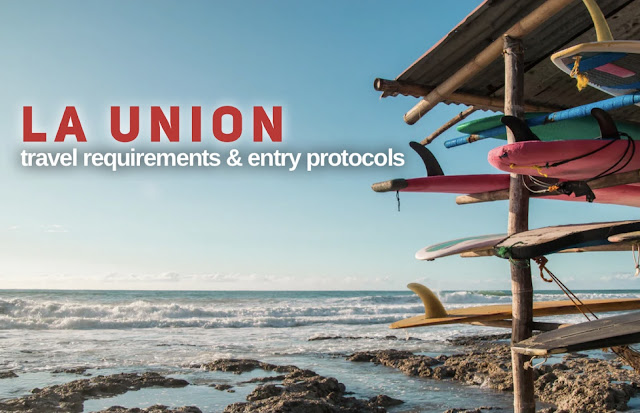 LA UNION Travel Requirements October 2021 for Tourists