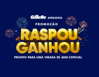 Raspou Ganhou Gillette Promoção