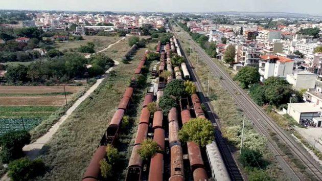 Στη Θεσσαλονίκη βρίσκεται ένα από τα μεγαλύτερα «νεκροταφεία» τρένων στον κόσμο (video)