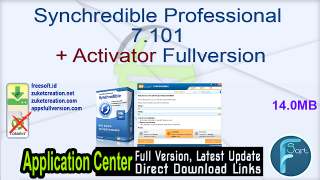 Synchredible Professional 7.101 + Activator Fullversion