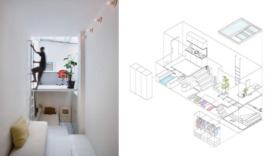 Cómo dibujar en perspectiva una habitación_3