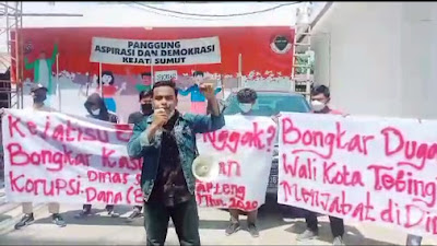 Terkait Temuan BPK, Mahasiswa Desak Kejatisu Periksa Wali Kota Tebingtinggi
