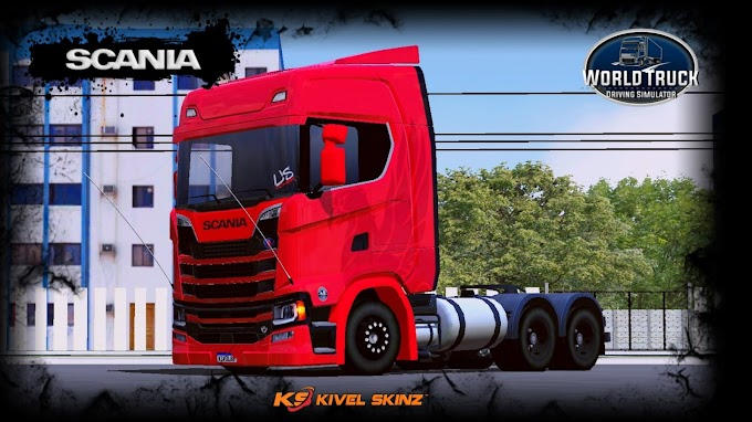SCANIA S730 - THE FLYING GRIFFIN RED