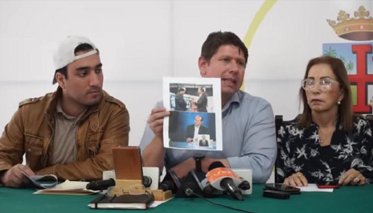 Gutiérrez pidió al presentador del canal estatal revelar la fuente que dijo terrorista a un joven / RRSS