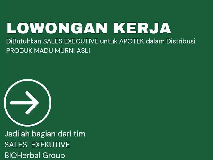 Lowongan Kerja BIOHerbal Group Leneng Praya Lombok Tengah NTB