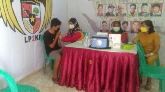 LP2KP Bekerjasama dengan Pemkot Bekasi dan PMI Kota Bekasi adakan Vaksinasi