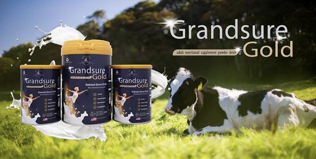 Sữa non xương khớp Grandsure Gold là gì
