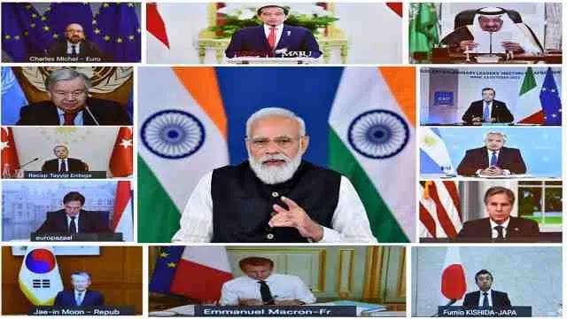 प्रधानमंत्री ने अफगानिस्तान पर G20 असाधारण शिखर सम्मेलन में भाग लिया