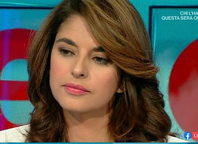 bellissima conduttrice TV Benedetta Rinaldi Elisir 13 ottobre