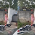 Em Manaus, mulher destrói completamente a moto do namorado após descobrir traição; veja vídeo