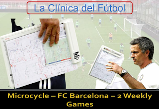Microcycle - FC BARCELONA - 2 Weekly Games