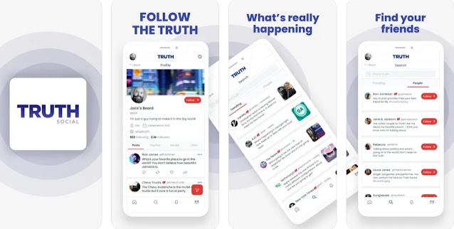 Truth Social Screen Shots