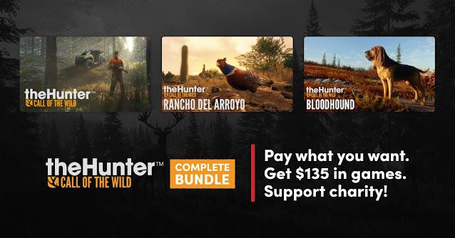 Humble theHunter: Call of the Wild Complete Bundle - 15美金購得《theHunter》與21款DLC