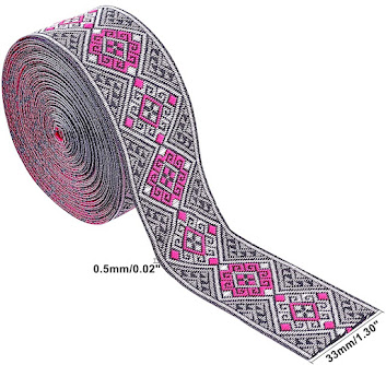 Cheap Jacquard Ribbons For Embellishment Craft Supplies