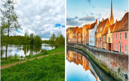 East Anglia & England