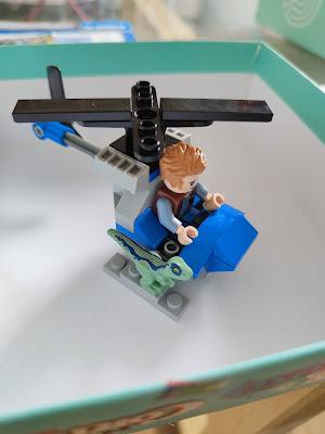 Lego Jurassic world miembro 8