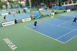 Papua Barat Tantang Jatim di Partai Final Tenis Tunggal Putra
