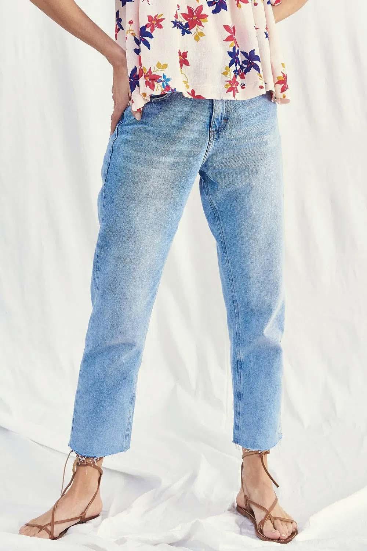 ropa de jean pantalones de mujer moda denim 2022